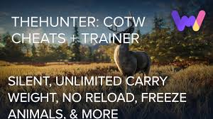 Thehunter Call Of The Wild Cheats And Trainer