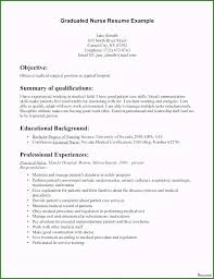 Sample Nurse Resumes Labor And Delivery Nurse Resume Sample Genuine Objective For