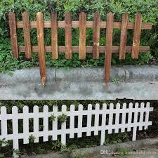 garden fencing trellis antiseptic wooden fence solid wood guardrail courtyard greening wedding garden flower beds decorations 60x35x20cm dhl wooden garden