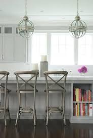 light gray center island with french pendant lights country mini lighting