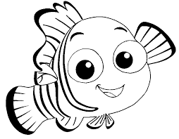 Small Picture Disney Coloring Pages Fish Coloring Coloring Pages