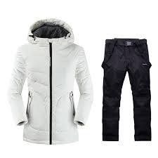 <b>2019 Womens</b> Mountain <b>Skiing</b> Outdoor Winter Warm Sport <b>Suits</b> ...
