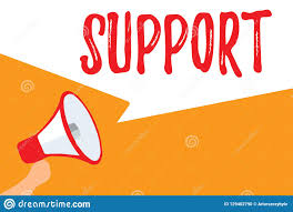 Text Sign Showing Support Conceptual Photo Give Assistance