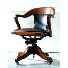 vintage wooden desk chair antique swivel solid oak desk chair with arm school vintage wooden office