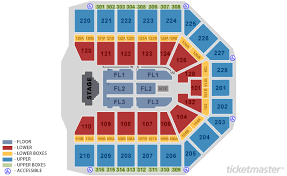 Rabobank Arena Seating Chart With Seat Numbers Van Andel Arena Seating Chart With Seat Numbers Gillette