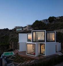 Sunflower House Comprises Ten Cubes Pointed In Different DirectionsSunflower House