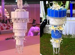 chandelier cakes make their way to india