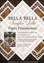 Bella Bella Quilts: Stunning Designs From Italian Mosaics: Norah ... & Bella Bella Sampler Quilts Paper Foundations: Use with Norah McMeeking's  Bella Bella Sampler Quilts Adamdwight.com