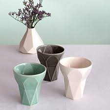 jewish bar mitzvah gift handmade kiddush cup ceramic your choice of white grey or