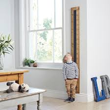 Giant Measuring Stick Growth Chart Personalised Chalkboard Kids Rule Height Chart