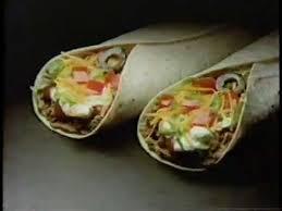 taco bell burrito supreme. Delighful Supreme Taco Bell 1981 Burrito Supreme Commercial Throughout