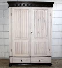 Schrank Weiß Holz Cool Bild Kleiderschrank 2 Türig Xl Weiß Kolonial