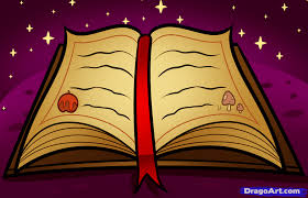 how to draw a spellbook