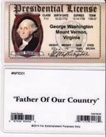 Of Washington George Driver President Dc Bu License 's W AArSqIzw