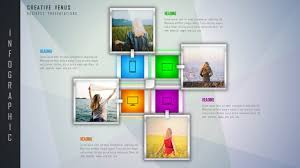 Template For Picture Collage Photo Collage Powerpoint Template 2018 Photo Collage And