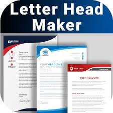 It has never been so easy to create your professional letterhead design with fotor's letterhead maker. Letterhead Maker Business Letter Pad Template Logo Apps On Google Play