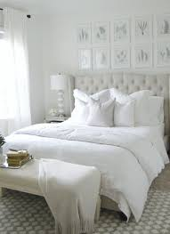 Bedroom with white bedding photos and video WylielauderHousecom