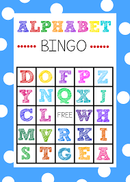 alphabet bingo game boards