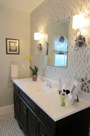 attractive bathroom best 25 wallpaper accent wall ideas on within walls in bathrooms remodel 10