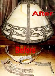 slag lamp shade