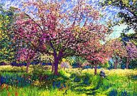 Image result for apple blossom paintings