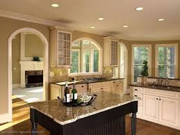 wall choices for white cabinets kitchen paint colors