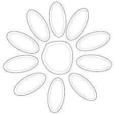 Small Picture Girl Scout Daisy Petals coloring page Free Printable Coloring Pages