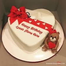 happy birthday cakes with love. Contemporary With Love Happy Birthday Cake With Name On Cakes Pinterest
