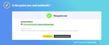 Quote Checker Enchanting Storyzy Is A Quote Verifier That Wants To Skewer Fake News TechCrunch