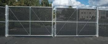 Chain Link Fence Gate Chain Link Fence Gate Double Swing Leaf Chain