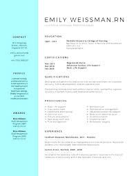 New Nursing Graduate Resume Sample Nursing Student Resume Objectives Personal Statement Branding