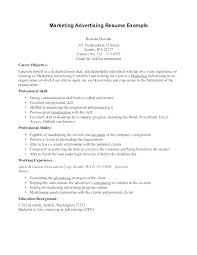 Advertising Resume Examples Resume Writer Resume Writing Group