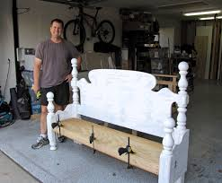 Bench Out Of Headboard Make A Bench Out Of A Headboard And Footboard 150 Cute Interior