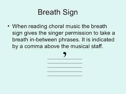 Musical Staff Sign Music Terminology