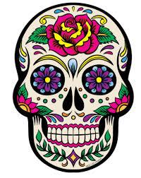 эскизы татуировок с ярким мексиканским черепом 40 фото онлайн