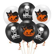 15pcs <b>Halloween Balloons</b> Decorative Skull <b>Pumpkin</b> Cartoon ...