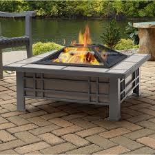 Nice Wood Fire Pit Table   Morrison Steel Wood Burning Fire Pit Table