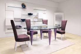 luxury exciting white dining room rug decoration under oval glass dining table plus brown dining chair