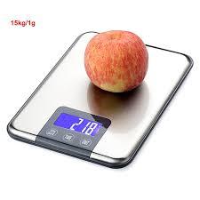 <b>10Kg</b>/<b>15kg 1g Digital</b> Kitchen Scale Libra Food Diet Wight Balance ...
