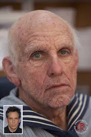 ever wondered how you will look when you grow old just visit a prosthetic makeup artist and see it for yourself