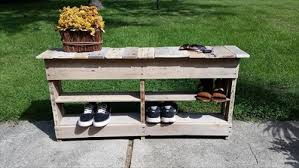 diy pallet shoe rack. Build A Pallet Table Ideas With Shoe Rack: Diy Rack