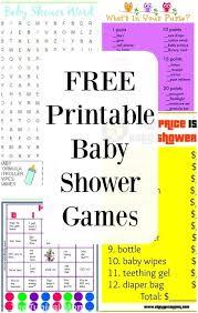 65 Order Baby Shower Games - skiutahreservations.com