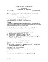 Sample Resume For New Grad Nurse Nursing Resume Examples For New