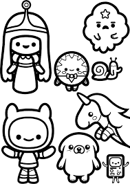 Small Picture coloring pages adventure time Coloring Pages Ideas
