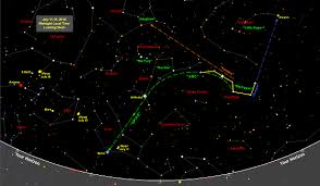 Star Chart For July 2016 Sky Map Star Chart July 2016 Old Farmers Almanac