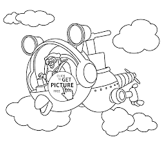 Small Picture Agent OSO riding whirly bird coloring pages for kids printable