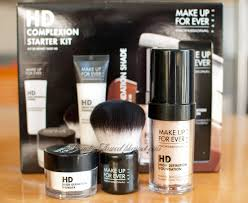 make up forever hd plextion starter kit in pink porcelain 110 for the new year i