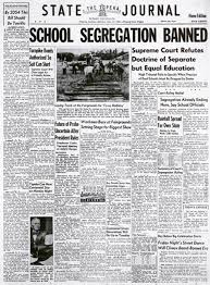 brown v board of education was decided on this day in and it brown v board of education was decided on this day in 1954 and it was