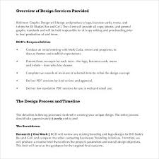 Sample Graphic Design Proposal Template 10 Free Documents