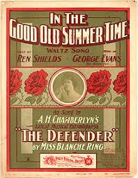 in the good old summer time inthegoodoldsummertimecoverblanchering jpeg